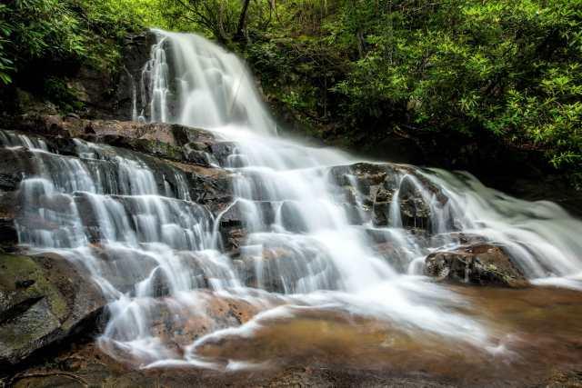 Laurell-Falls-Great-Smoky-Mountain-National-Park