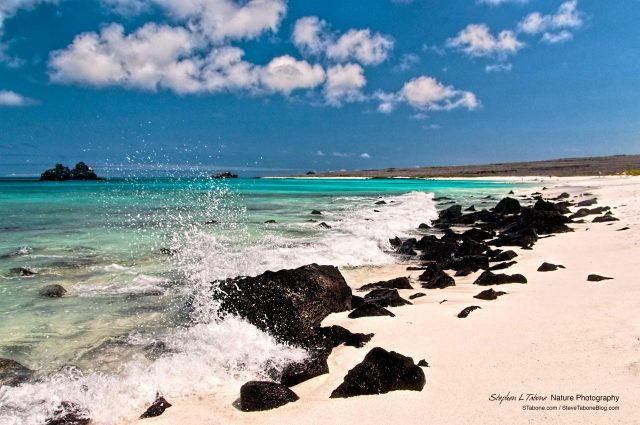 Espanola-Island-Wave-on-Volcanic-Rocks-Galapagos-wL
